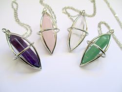 Crystal Cage Pendants