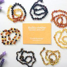 Amber Teething Jewellery