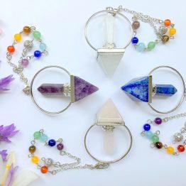 Pyramid & Hexagonal Prism Pendulums